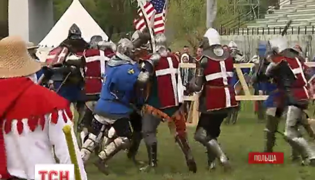 В Польше начался международный рыцарский турнир