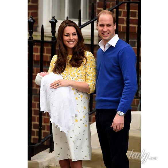 выписка герцогиня Кембриджская и принц Уильям