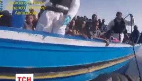 Итальянской полиции за выходные удалось спасти жизни 7 тысяч африканских мигрантов