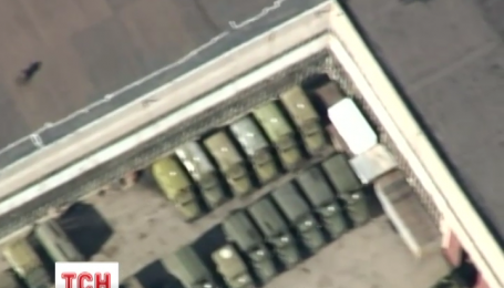 Аэроразведка зафиксировала танки на улицах Донецка