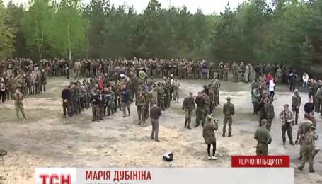 У лісах Тернопільщини та Рівненщини пройшов партизанський вишкіл