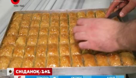 В украинских магазинах продается не настоящая пахлава