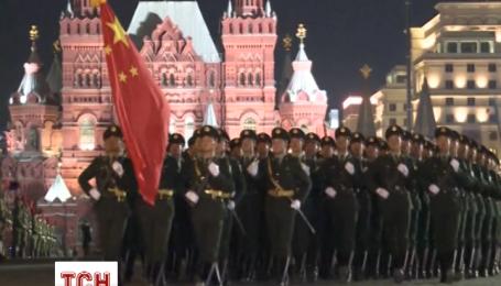 В России на Красной площади состоялась репетиция парада