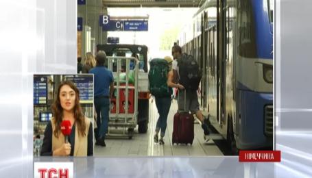 В Германии остановился чуть не весь железнодорожный транспорт