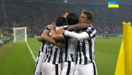 Ювентус - Реал - 2:1. Відео голу Тевеса з пенальті