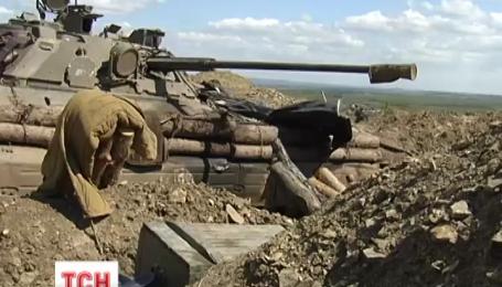 Боевики на Донбассе используют реактивную артиллерию