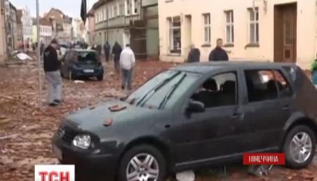 Потужний шторм спричинив масштабні руйнування на півночі Німеччини