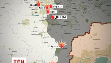 Из штаба АТО сообщают об обострении ситуации на Донбассе