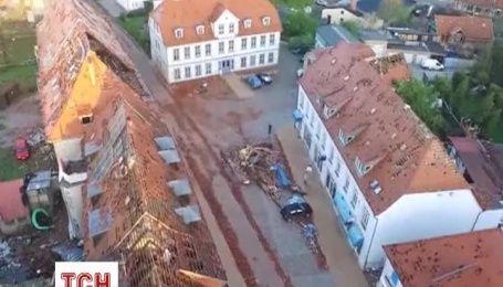 Шторм вызвал масштабные разрушения на севере Германии