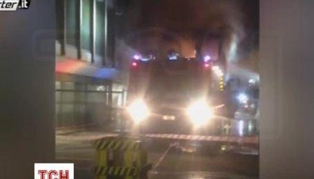 Масштабна пожежа сталася у головному аеропорті Риму