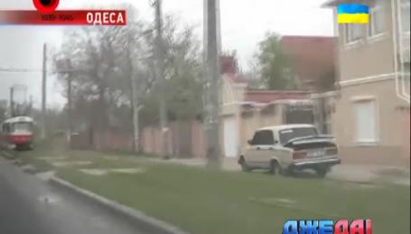 В Одессе мальчишки похитили авто и катались по городу