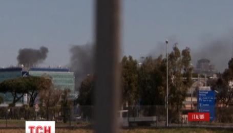 Международный аэропорт имени Леонардо да Винчи снова работает