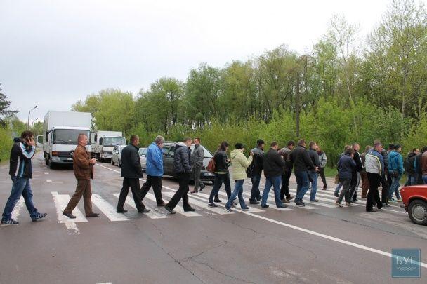У Миколаївському районі жителі знову протестують проти закриття школи