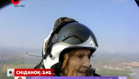 Британка села за штурвал истребителя через 70 лет