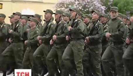 27 бригаду Национальной гвардии пополнили 106 призывников