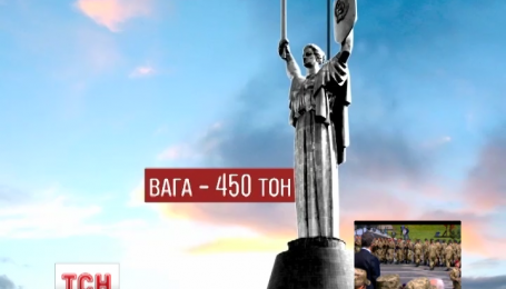 Монумент «Родина-Мать» самый известный символ Киева