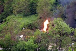 У Вінниці сталася серія вибухів на автозаправці