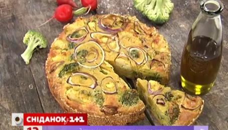 Рецепт запіканки з броколі та цвітної капусти від Руслана Сенічкіна