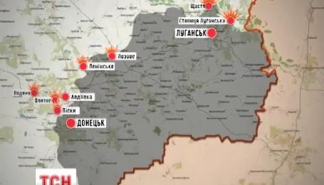 У зоні АТО противник не припиняє обстріли українських позицій