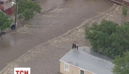 Пострадавших от торнадо в Техасе эвакуировали вертолетом