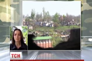 В Широкино обстрелы боевиков пошли на спад, но география нападения расширилась