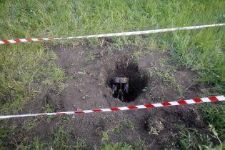 В Тернопольской области возле железнодорожного пути нашли авиабомбу
