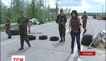 Боевики ведут активную стрельбу в районе Станицы Луганской