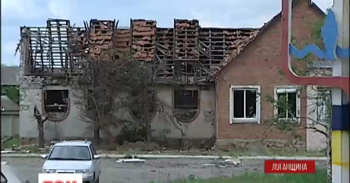 На Луганщині у результаті мінометного обстрілу бойовиків важко поранено працівника ДАІ