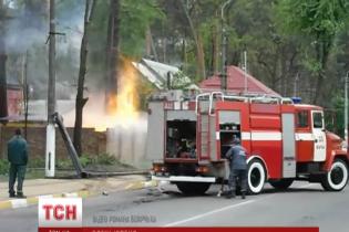 Под Киевом на газораспределительной станции прогремел взрыв