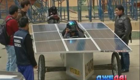 Студенты собрали авто на солнечных батареях