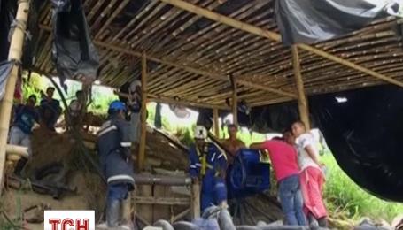 В Колумбії затопило шахту з видобутку золота із робітниками всередині