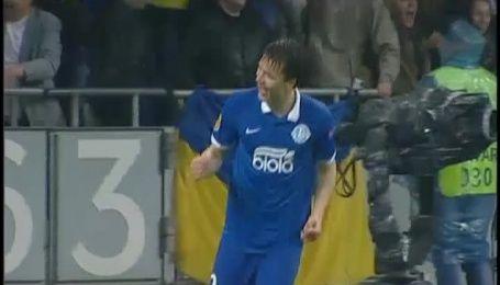 Дніпро - Наполі - 1:0. Як Коноплянка радів голу Селезньова