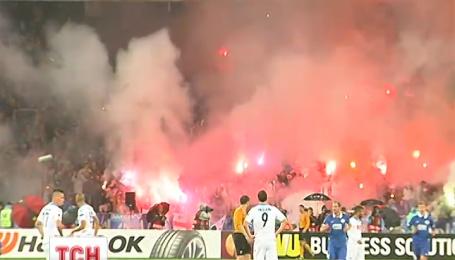 Со счетом 1-0 «Днепр» обыграл «Наполи» и ворвался в финал Лиги Европы