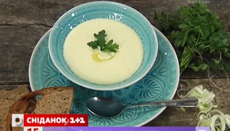 Рецепт сирного супу-пюре від Руслана Сенічкіна