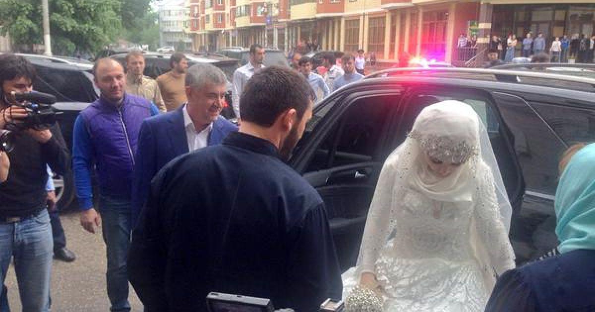 В Чечне отгуляли скандальную свадьбу. @ twitter/Говорит Москва