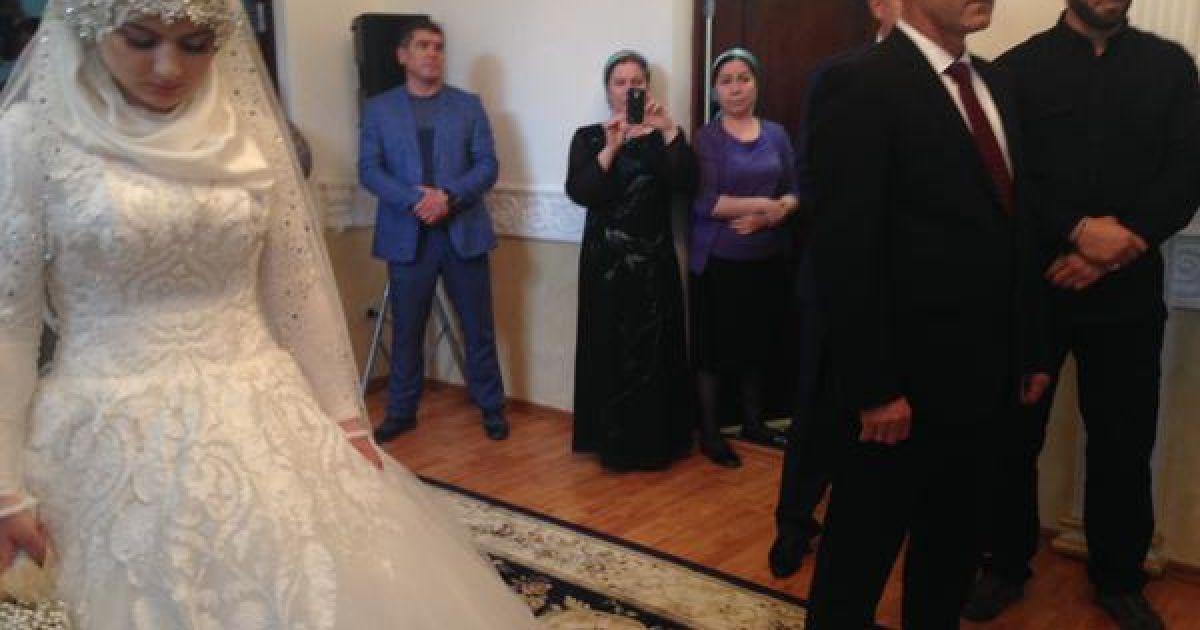 В Чечне отгуляли скандальную свадьбу. @ twitter/Veronika Dorman