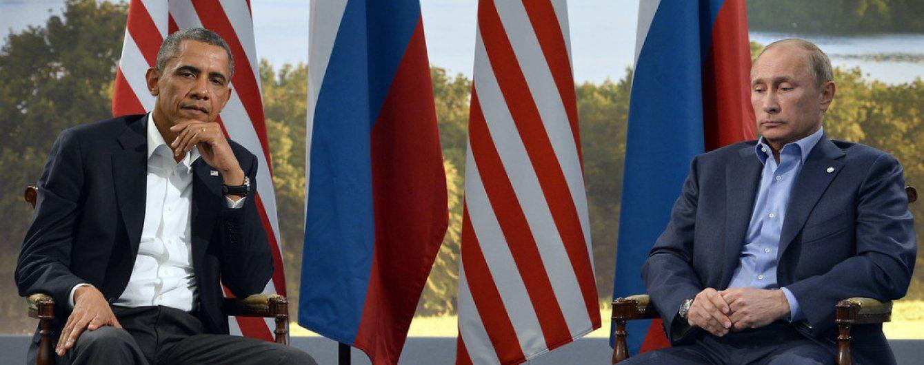 Обама нагадав Путіну, що російсько-сепаратистські сили мають виконувати Мінські угоди