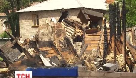 В Кривом Роге в результате взрыва газа полностью разрушен двухэтажный дом