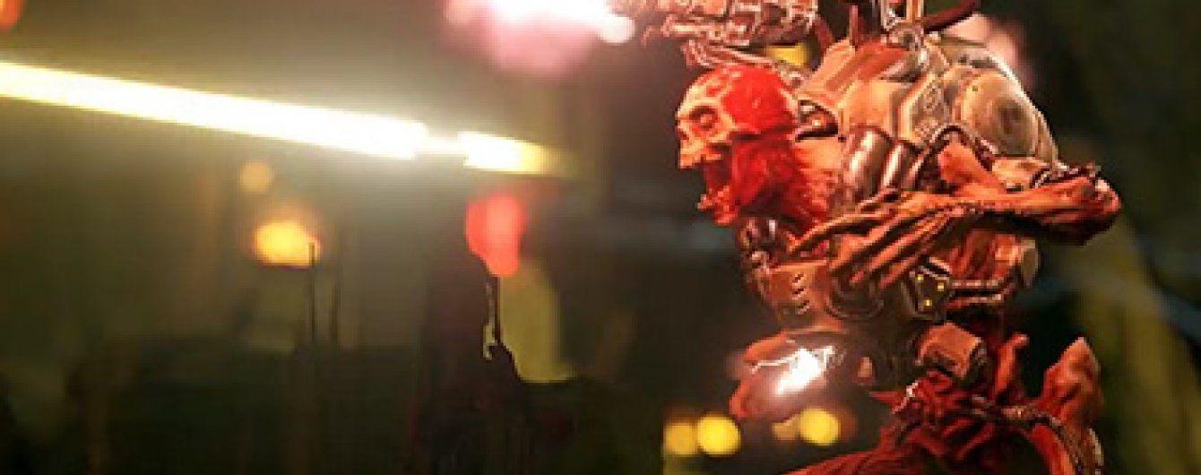 У Мережі з'явився кривавий трейлер хорор-шутера Doom