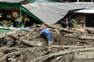 У Колумбії через зсув ґрунту загинули десятки людей