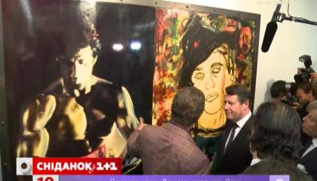 Сільвестр Сталоне відкрив у Ніцці виставку своїх картин