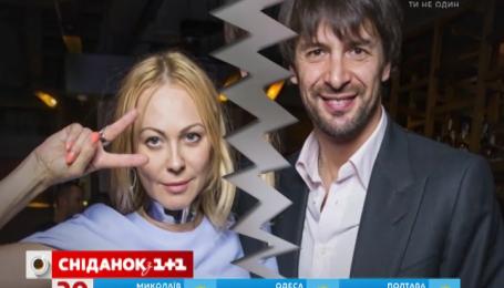 Олександр Шовковський та дизайнерка Ольга Альонова розлучаються