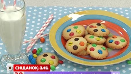 Рецепт печенья с конфетами от Руслана Сеничкина