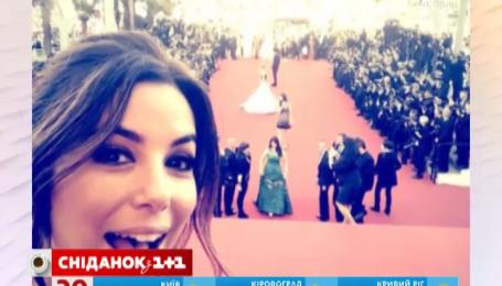 Єва Лонгорія порушила правила Канського фестивалю