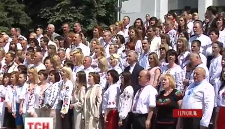 Тернопольская областная администрация бросает вызов Администрации Президента