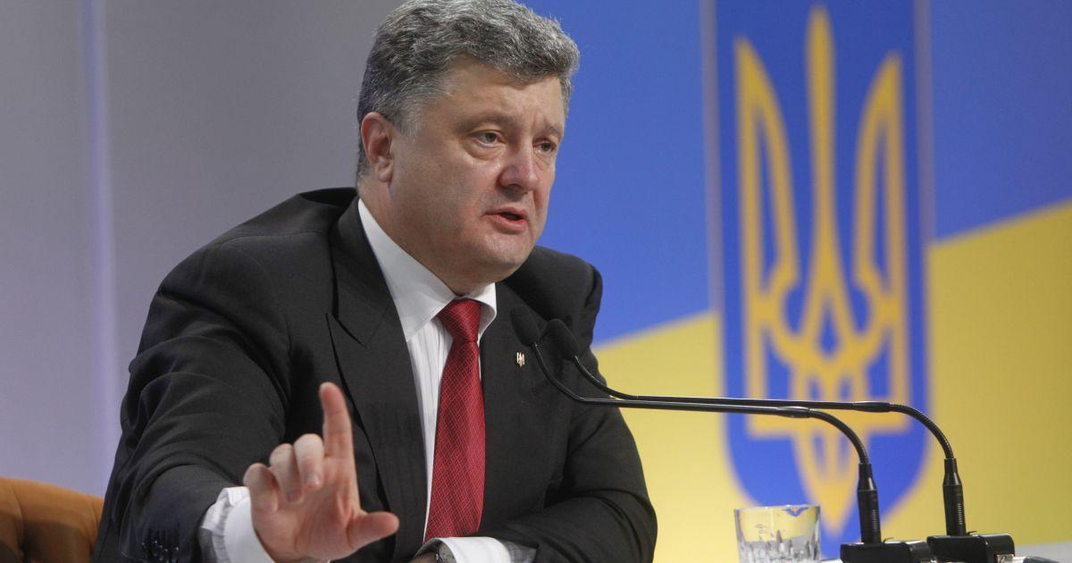 Порошенко считает закон о лишении Януковича звания президента неконституционным