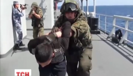 Військові кораблі Росії та Китаю вперше разом провели навчання у Середземному морі