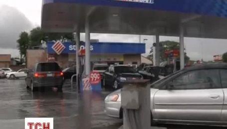 Американский штат Техас затопила большая вода