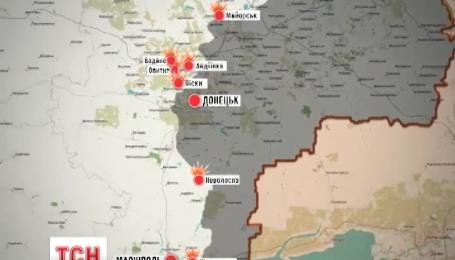 Українські позиції вночі обстрілювали з мінометів, гармат та градів