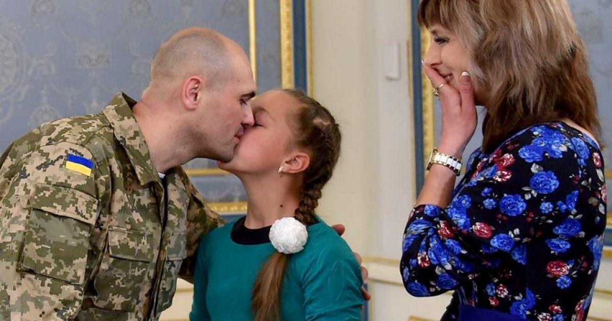 Семья Кузьминых @ Офис Президента Украины